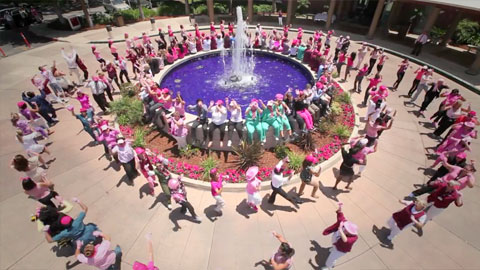 Pomona Valley Hospital | Pink Glove Dance