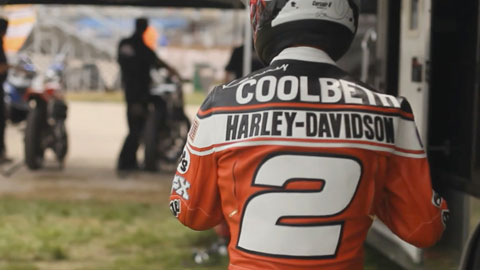 H-D Flat Track Racing | Kenny Coolbeth